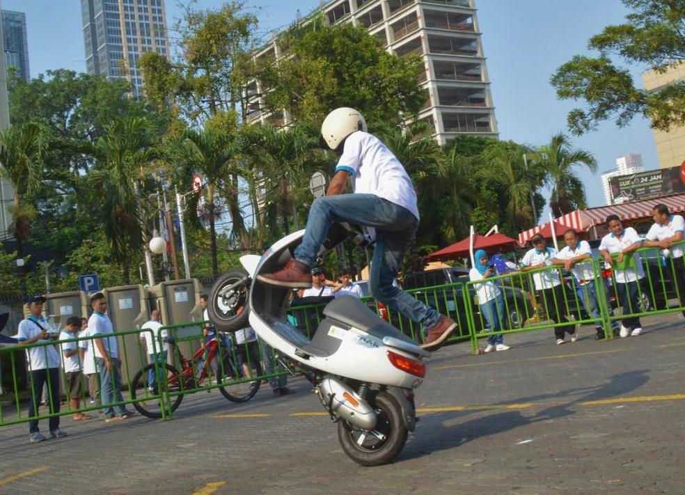 Beberapa Aksi Viar Motor Indonesia