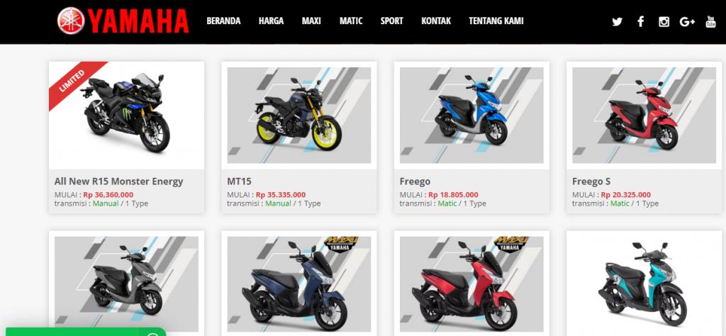 Yamahamotor.co.id Situs Untuk Memudahkan Kredit Motor Yamaha